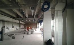 Rimini Impianti Studio IMS cantiere